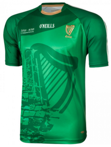 O'Neills have released a 1916 commemorative jersey that has the Proclamation on the back