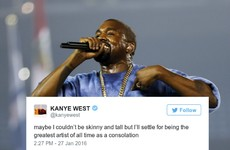 Kanye West just went on a rant and threw some mortifying shade at another rapper