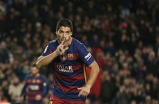 Luis Suarez has taken just 31 games to reach 30 goals for Barcelona