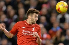 Lallana lifts lid on Liverpool bust-up