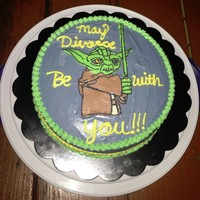 Someone has created the perfect Star Wars themed divorce cake