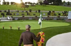 Golfing heaven: a cemetery for fans of a good walk spoiled