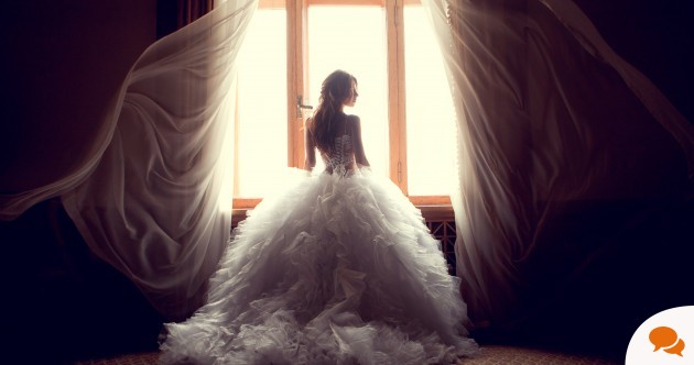 'I turned into a blubbering mess when I found my wedding dress'