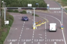 This footage of Rosslare Harbour's confusing junction is utter madness