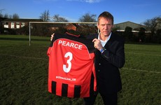 Stuart Pearce, 53, joins 'England's worst football team' for relegation battle