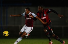 West Ham youngster joins Sligo Rovers on loan