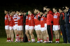 4 changes to Cork football team for Sunday's league opener against Mayo