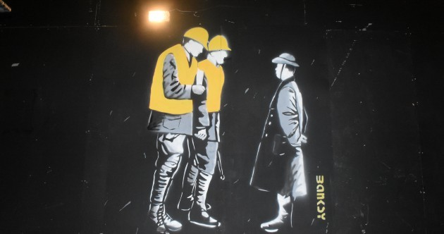 Is Banksy supporting the Moore Street campaign? It's unlikely...