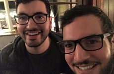 It's happened again! Two doppelgangers met by complete chance at a comedy gig