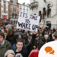 Column: I'm a businessman. Here's why I joined Occupy Dame Street