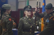 'I wanted to keep the peace, and joining the Irish army was the best way to do that...'