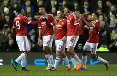 Rooney, Mata and Blind send Man United into the FA Cup fifth round