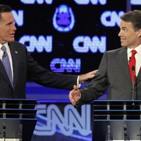 Romney and Perry clash in fiercest Republican presidential debate so far