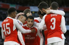 Sanchez's first goal in 2 months sends FA Cup holders Arsenal through