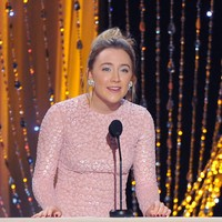 Saoirse Ronan has charmed the pants off another awards show audience