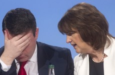 Slapped down: Joan Burton insists she IS Alan Kelly's boss