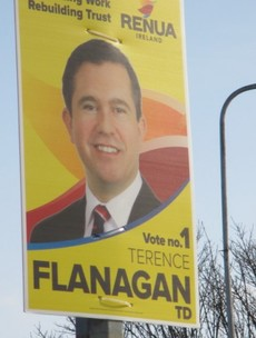 Renua TD's premature poster erection in north Dublin