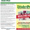 Irish Post returns to newsstands in Britain