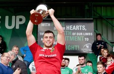 Munster centre Kiernan aims to make his own name with Ireland U20s