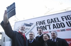 Sinn Féin billboard takes aim at 'deeply dishonest' Fine Gael figures