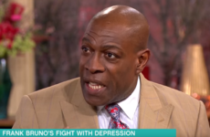 54-year-old Frank Bruno won't be granted licence for a boxing comeback