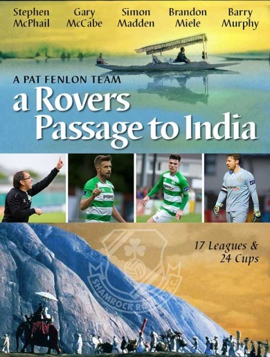 'Everyone in the LOI will be jealous' - Shamrock Rovers head off to India