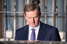 The phoney war is over as Enda finally heads to the park