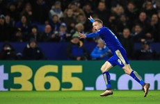 A goal-of-the-season contender from Jamie Vardy secures Leicester win over Liverpool