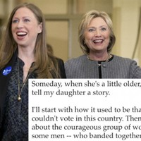Chelsea Clinton sent out an email about her mam Hillary and it's just lovely