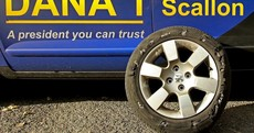 Dana 'lucky to be alive' after 100km/h tyre blowout