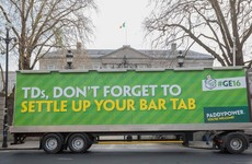 Paddy Power has already got a massive election dig in at the TDs with this stunt