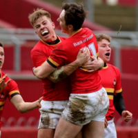 CBC produce powerful performance to score 4 tries in victory over Ardscoil Rís