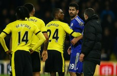Troy Deeney unimpressed with teammate's behaviour in Costa incident