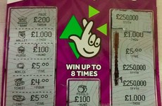 An absolute chancer went viral when he tried to pass off this as a winning scratch card