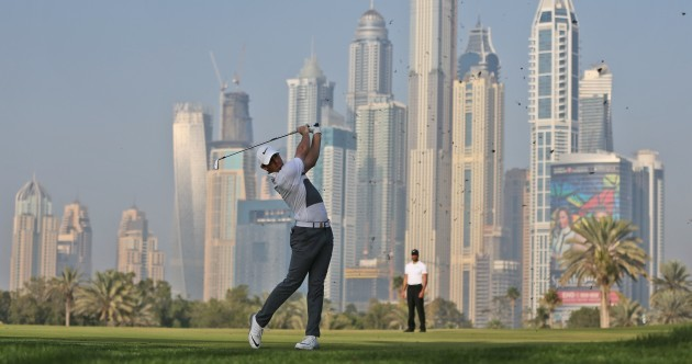 Hat-trick chasing McIlroy kicks off with promising start in Dubai