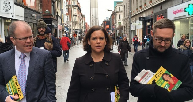 Ten apples for a euro and selfie-mania: Sinn Féin's somewhat subdued start