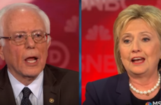 "Democratic candidates lock horns for first time as Clinton accuses Sanders of ""artful smear"""