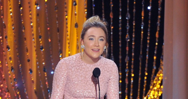 Saoirse Ronan's already booked a hangover day off after the Oscars... It's The Dredge