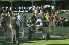 Is this how the next Terminator movie starts? Robot hits hole-in-one at PGA Tour event