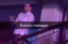 Roberto Martinez bust some serious moves at a Jason Derulo concert last night