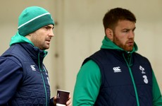 Ireland hope to welcome O'Brien and Kearney back to full training next week