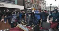 RTÉ cameraman injured in demonstrations on O'Connell Street