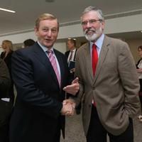 Fine Gael picks up support while Sinn Féin drops