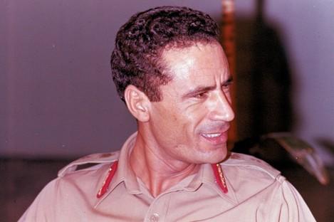 Muammar Gaddafi in 1970 shortly after his revolution began