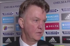 LVG did not seem best pleased with Memphis after United dropped points today