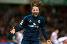 This stunning Luka Modric goal earned Real Madrid a late win last night