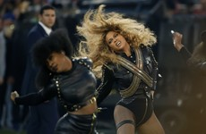 Beyonce, Coldplay 'believe in love' at Super Bowl show