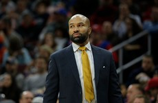 New York Knicks fire head coach Derek Fisher - reports