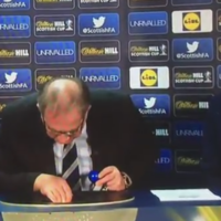 Oh balls! Tonight's Scottish Cup draw went horribly wrong live on Sky Sports