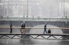 Hail, sleet and snow showers - the weather's not getting any better